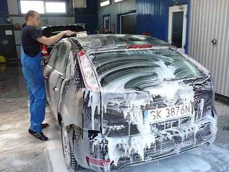 środek do mycia samochodu